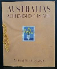 Sale 8176A - Lot 7 - Australia's Achievement in Art. Special number of Art in Australia, in commemoration of Australia's 150th Anniversary. Special box (.