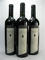 Sale 8278A - Lot 82 - 3x 1998 Yalumba The Octavius Old Vine Shiraz, Barossa Valley - sample bottles, foxed labels