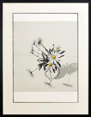 Sale 8274 - Lot 512 - David Rose (1936 - 2006) - Daisies from Close up, 1984 64 x 58cm