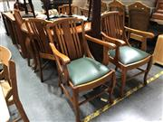 Sale 8854 - Lot 1050 - Seven Piece Timber Dining Suite