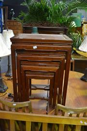 Sale 8039 - Lot 1068 - Nest of 4 Chinese Tables