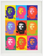 Sale 8161A - Lot 89 - Andy Warhol (1928 - 1987) After. - Che Guevara 90 x 60cm (frame 113 x 83cm)