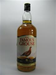 Sale 8201A - Lot 543 - The Famous Grouse Blended Scotch Whisky - 1125ml, old bottling, some losses