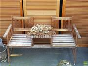 Sale 8566 - Lot 1474 - Jack and Jill Outdoor Chair