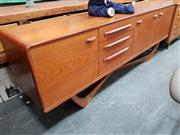 Sale 8822 - Lot 1023 - Bleithcraft Teak Sideboard with 3 Doors and 3 Drawers