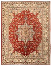 Sale 8780C - Lot 218 - A Persian Yazd From Yazd Region 100% Very Fine Wool Pile On Cotton Foundation, 310 x 240cm