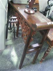Sale 7933A - Lot 1136 - Heavily Carved Chinese Altar Table