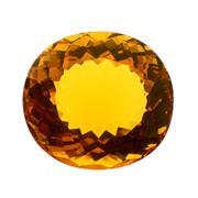 Sale 8060B - Lot 384 - AN UNSET 38CT OVAL CUT MADIERA CITRINE.