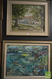 Sale 8214 - Lot 2093 - June Smithers (XX) & Artist Unknown (XX) oils on canvas boards, various sizes