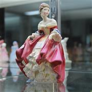 Sale 8306 - Lot 3 - Royal Doulton Figure Southern Belle Figure