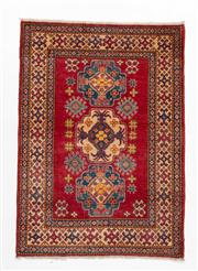 Sale 8740C - Lot 28 - An Afghan Kazaz, Naturally Dyed 100% Wool, 160 x 110cm