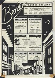 Sale 8766A - Lot 5039 - Hotel Berlin August Program - screenprint
