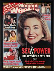 Sale 8841 - Lot 2083 - (3 WORKS) Women's Weekly March 1998, Sex and Power, Hillary's Hold over Bill...print, 54 x 40.5cm; Phantasm Comes Again, daybill pos.