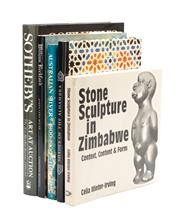 Sale 8864 - Lot 7 - Five art reference books including John Hawkins' Australian Silver, Sothebys Art and Auction, Stone sculptures in Zimbabwe and other..