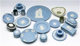 Sale 9164 - Lot 416 - Collection of Wedgwood inc pin dishes, miniatures, lidded containers and others