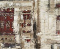 Sale 9187JM - Lot 5004 - LEE REYNOLDS Abstract hand-painted giclee on canvas 91 x 111 cm signed lower right