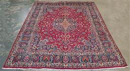 Sale 9188 - Lot 1300 - Persian hand knotted pure wool Kashan (307 x 245cm)