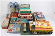 Sale 8384 - Lot 92 - Vintage Monopoly Sets (3) with Other Board Games & a Give-a-Show Projector