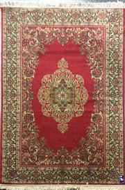 Sale 8740 - Lot 1575 - Persian Kerman (230 x 150cm)