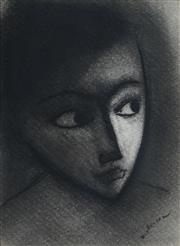 Sale 8813 - Lot 522 - Robert Dickerson (1924 - 2015) - The Glance 25.5 x 17.5cm