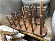 Sale 8854 - Lot 1086 - Pair of Boot Stands