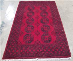 Sale 9188 - Lot 1496A - Afghan hand knotted pure wool Turkoman (240 x 170cm)