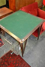 Sale 8115 - Lot 1128 - Card Table