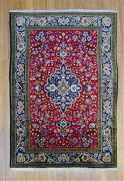Sale 8559C - Lot 82 - Persian Kasahn 150cm x 107cm