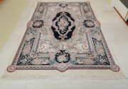 Sale 8677B - Lot 570 - A Chinese hand knotted woolen rug in the Aubusson style, 270 x 182 cm