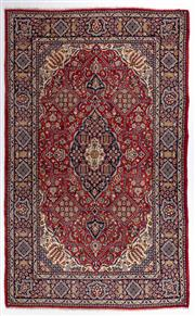 Sale 8780C - Lot 220 - A Persian Jarghoye From Isfahan Region 100% Wool Pile On Cotton Foundation, 335 x 215cm