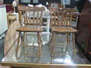 Sale 7932A - Lot 1188A - Set of 4 Kitchen Chairs