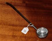 Sale 8127A - Lot 42 - 19th Century Silver and Baleen Toddy Ladle,