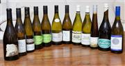 Sale 8694A - Lot 40 - A dozen assorted white wines including French