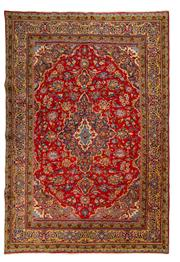 Sale 8715C - Lot 86 - A Persian Najafabad From Isfahan Region, 100% Wool Pile On Cotton Foundation, 292 x 195cm