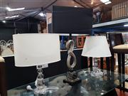 Sale 8826 - Lot 1096 - Collection of 3 Modern Table Lamps