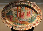 Sale 7950 - Lot 98 - Cantonese Polychrome Tray