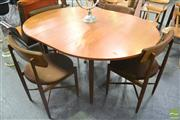 Sale 8260 - Lot 1026 - G-Plan Teak Table & Set of Four Chairs