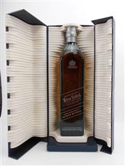 Sale 8531 - Lot 1953 - 1x Johnnie Walker Blue Label Blended Scotch Whisky - limited edition design by Alfred Dunhill, 700ml in box