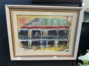 Sale 8548 - Lot 2115 - Branson, Waiting for Night Business, signed, 27x37cm
