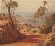 Sale 8606 - Lot 549 - Robert Johnson (1890 - 1964) - Frenchs Forest 37 x 44cm