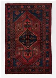 Sale 8790C - Lot 123 - A Persian Hamadan Classed As Village Rugs, Wool On Cotton Foundation, 188 x 126cm