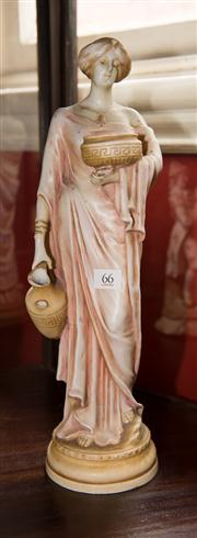 Sale 7962B - Lot 66 - Royal Amphora figure of a Water Carrier