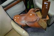Sale 8046 - Lot 1080 - Leather Horse Saddle