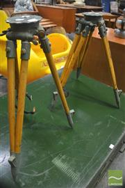 Sale 8326 - Lot 1040 - Pair of Tripods
