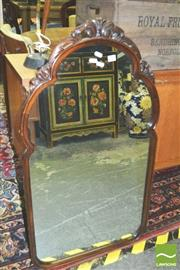 Sale 8371 - Lot 1030 - Timber Frame Mirror