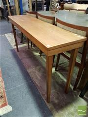 Sale 8532 - Lot 1033 - Timber Hall Table