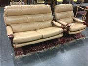 Sale 8740 - Lot 1502 - Tessa T8 2 Seater Lounge and Armchair