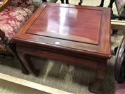 Sale 8697 - Lot 1660 - Mahogany Chinese Occasional Table