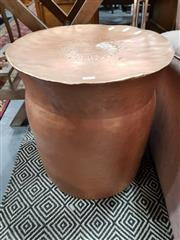 Sale 8740 - Lot 1055 - Copper Side Table