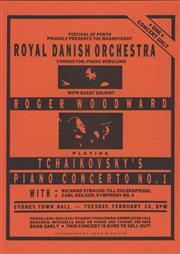 Sale 8766A - Lot 5043 - Royal Danish Orchestra with Guest Soloist Roger Woodward - screenprint
